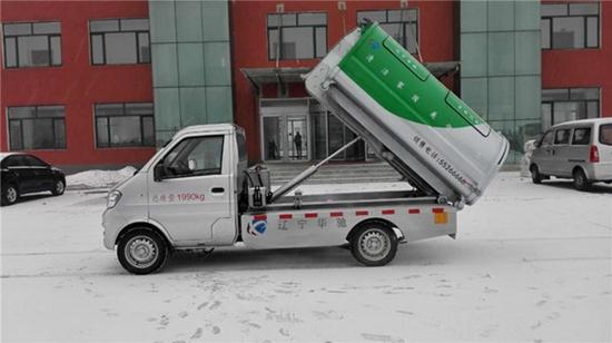 东风小康+长安自卸式垃圾车